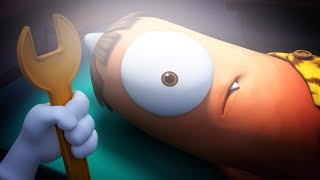 Kebi Gets Eye Surgery | Spookiz | Kids Cartoons