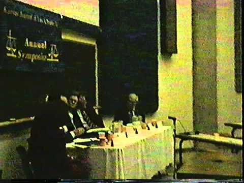 Media violence panel discussion