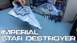 Lego Star Wars Imperial Star Destroyer Time Lapse | 75055
