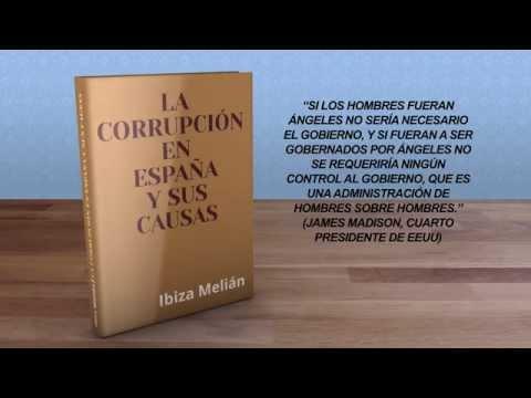 """Promoción del libro """"La corrupción en España y sus causas"""", escrito por Ibiza Melián"""