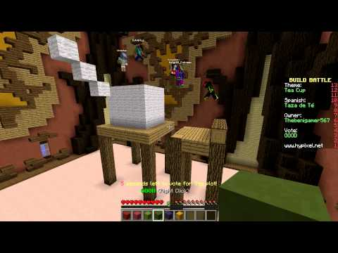 HOY ES MI CUMPLE!!! - Build Battle Minecraft