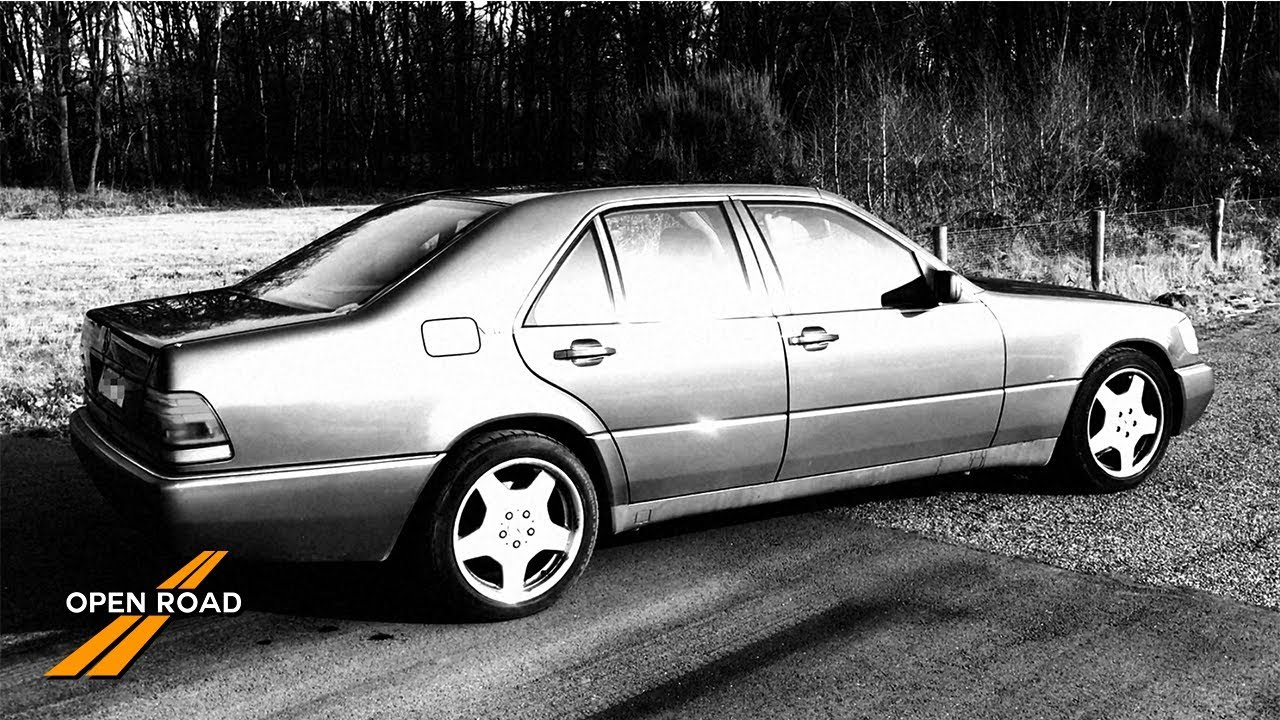 Mercedes Benz W140 S600 Recovered Footage Youtube