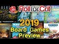 Our Most Anticipated Board Games of 2019