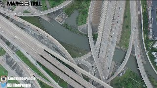 Houston Flood Drone Crazy Footage May 26th 2015 | All Over Houston | @6BillionPeople