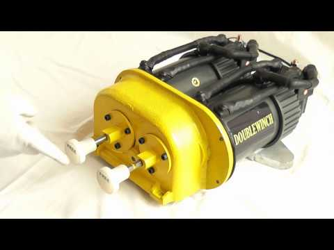 DOUBLEWINCH - Power Head 2X6.5HP - Free spool fitting and operation - WARN 8274 upgrade