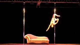 Amber Cahill Great Midwest Pole Dance Competition