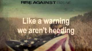 Rise Against This is Letting Go (w/lyrics)