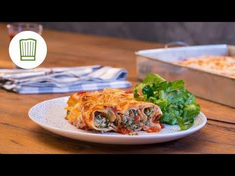 Cannelloni mit Ricotta und Spinat | Chefkoch.de