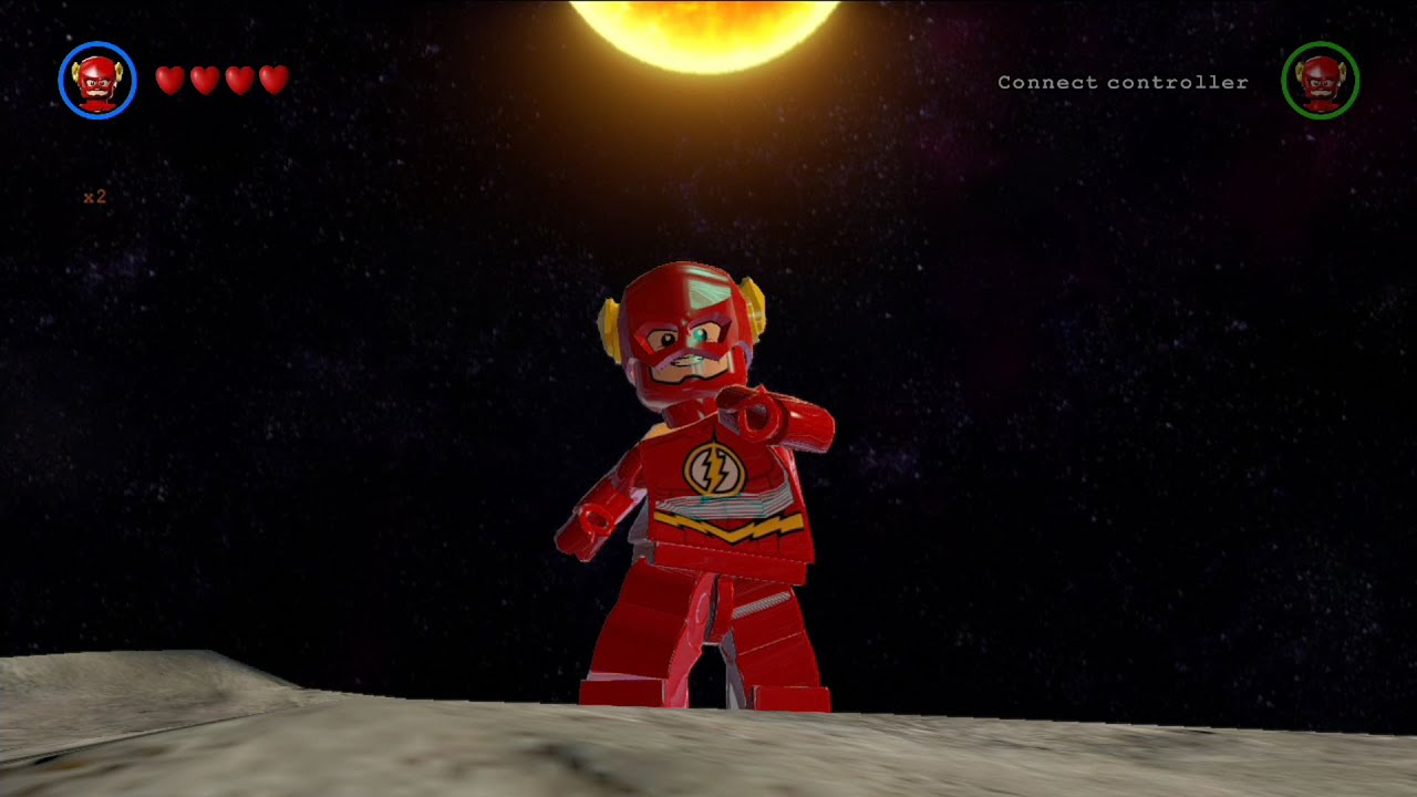 LEGO Batman 3: Beyond Gotham - The Flash Free Roam ...