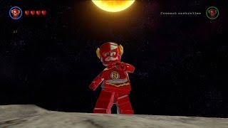 LEGO Batman 3: Beyond Gotham - The Flash Free Roam Gameplay [HD]