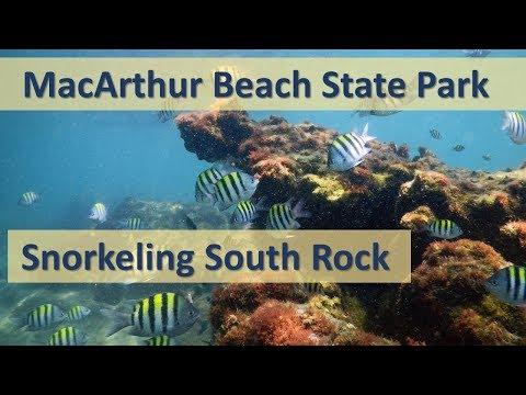 Snorkeling South Rock – MacArthur Beach State Park