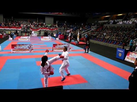 Ceyco Georgia Zefanya - Paspampres Open Karate Championship 2017