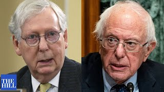 Mitch McConnell CALLS OUT Bernie Sanders in speech on Senate floor