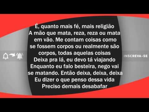 Marcelo D2 - Desabafo (Letra)