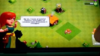 Clash of clans primo episodio nel telefono