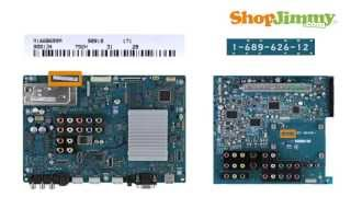 Sony TV Repair-Part Number Identification Guide for Sony Main Boards-How to Fix Sony LCD/LED/Plasma