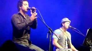 Chris (Seb) and Guy Sebastian - Home (Live Palms 26-10-07)