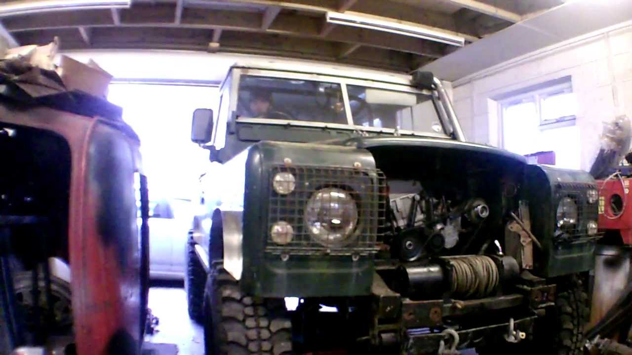 Land Rover With Mercedes Om606 Diesel Engine Youtube