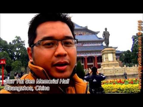 Sun Yat Sen Memorial Hall, Guangzhou, China | Travel Video VLOG