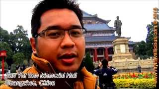 Sun Yat Sen Memorial Hall, Guangzhou, China | Travel Video VLOG