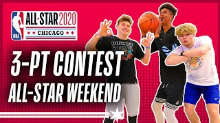 3-PT Contest at NBA All-Star w/ 2Hype, Tristan Jass & Bone Collector