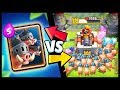 NEW CARD! ROYAL HOGS vs ALL CARDS in Clash Royale   Royal Hogs Gameplay