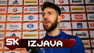 Vasa Micić Nakon Finala Evrolige 2019    SPORT KLUB Košarka