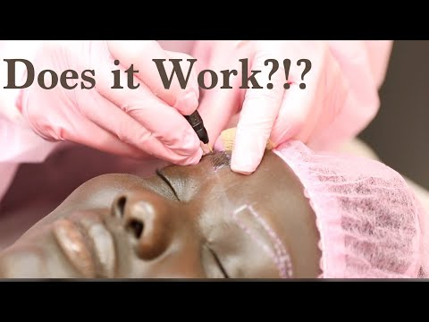 Microblading on Dark Skin MUST WATCH! Nyma Tang