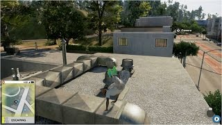 WATCH DOGS 2 PARKOUR RUN WITH TRICKS & STUNTS - WHAT A STUPID WAY TO DIE!!!