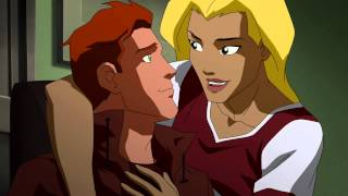 Young Justice S02E04 Wally and Artemis (Spitfire returns)