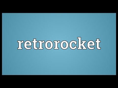 Header of retrorocket