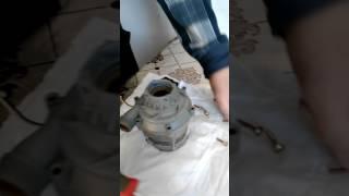 Ремонт насоса котла МастерГаз