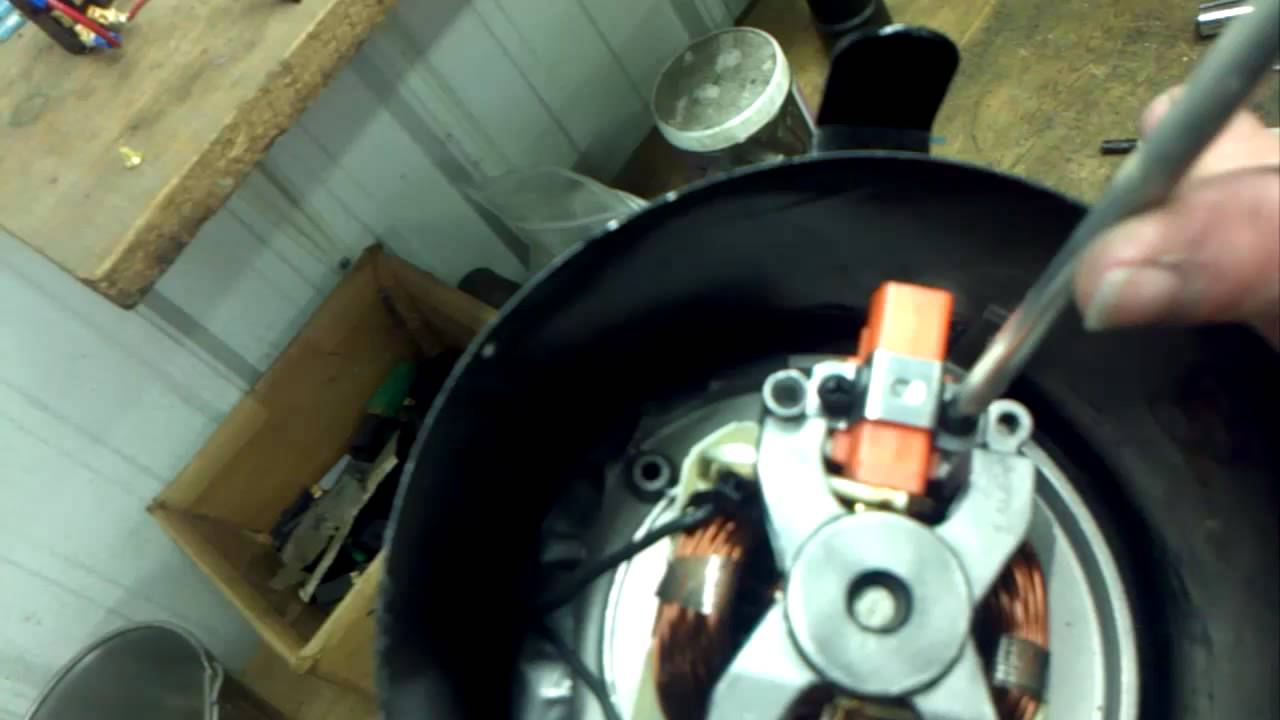 Changing Motor Brushes On The Front Motor Of A K