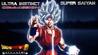 DDS: Ultra Instinct Super Saiyan [Commission]
