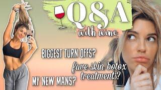 Biggest Turn-Offs? My New Man? Favorite Skin/Botox Treatments? Q&A WITH WINE YUM