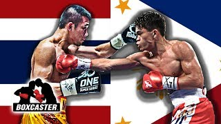 MUST SEE MATCH UP: Jerwin Ancajas vs. Srisaket Sor Rungvisai | Boxing Highlights | BOXCASTER