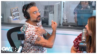 Jaime Camil's 'Jane the Virgin' Costars Tricked Him Into Getting Tattoo | On Air With Ryan Seacrest
