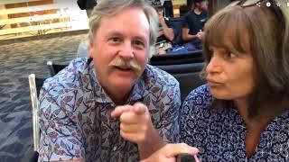Jaybird and Mollie travel to Napa