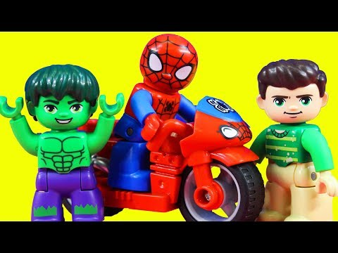 Lego Duplo Spider-man & Hulk Adventures Toy Review With Just4fun290