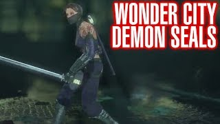 Batman Arkham City Wonder City Demon Seal Locations