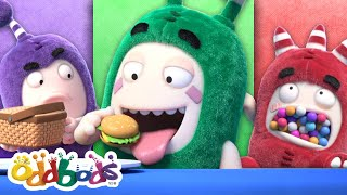 Oddbods Try Out All The Colorful Food | Food Challenge | Funny Cartoon