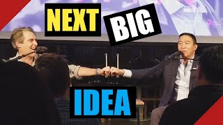 Andrew Yang on The Next Big Idea Podcast! Full awesome interview!
