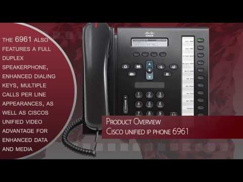 Cisco Unified IP Phone 6961 Product Overview