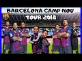 BARCELONA CAMP NOU STADIUM TOUR EXPERIENCE MUSEUM VLOG