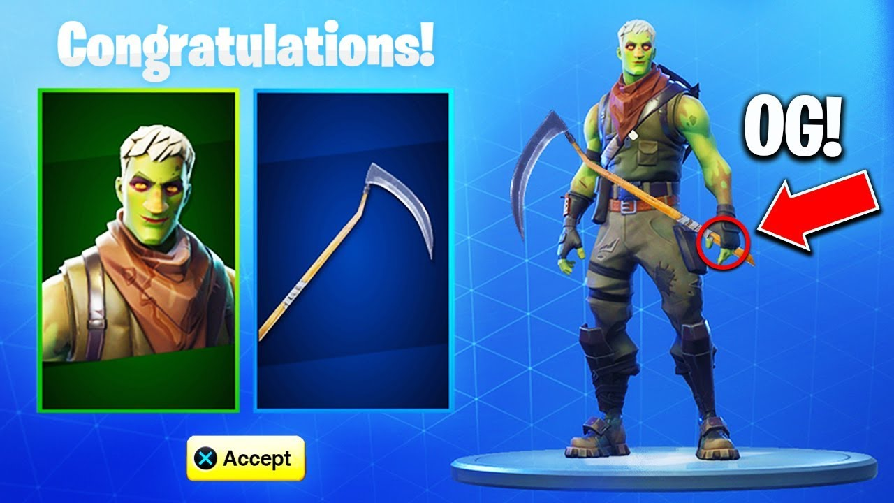 New Ghoul Trooper Skin Scythe Pickaxe Back Fortnite Reaper Pickaxe Youtube