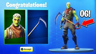 *NEW* GHOUL TROOPER SKIN + SCYTHE PICKAXE BACK! (Fortnite Reaper Pickaxe)