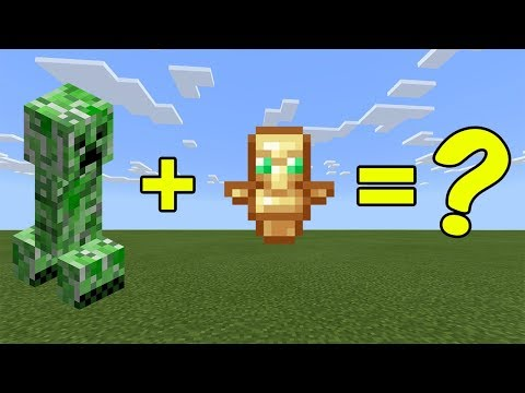 I Combined A Creeper And A Totem Of Undying In Minecraft - Here's WHAT Happened...