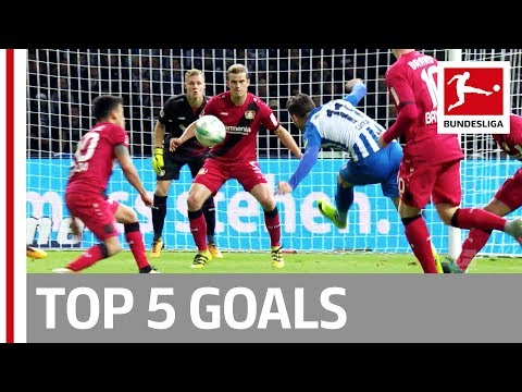 Pulisic, Vidal, Raffael and More  - Top 5 Goals on Matchday 05