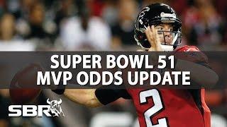 nfl super bowl 51 picks   mvp odds update
