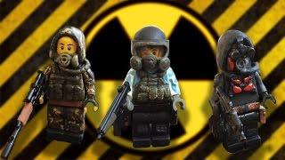 Lego S.T.A.L.K.E.R Кастомные минифигурки